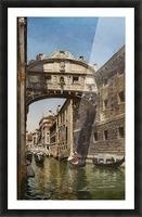 The Bridge of Sighs, Venice Picture Frame print