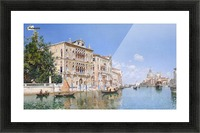 The Grand Canal Looking Towards Santa Maria Della Salute Picture Frame print