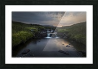 Dusk over the Brecon Beacons Picture Frame print