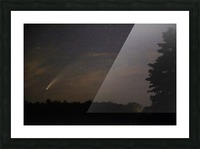 Neowise Comet 7.14.20 Picture Frame print