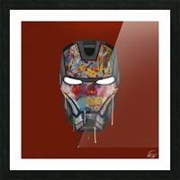 Iron Man Picture Frame print