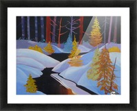 winterwonderland.acrylic Picture Frame print