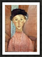 Modigliani - Girl with Hat Picture Frame print