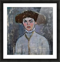 Modigliani - Head of a young woman Picture Frame print