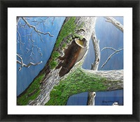 Mossy Branch Picture Frame print