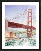 Golden Gate Bridge San Francisco Picture Frame print