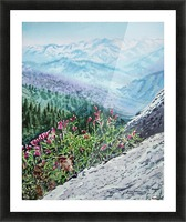 Mountains Of Sequoia  Picture Frame print