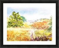 Fall Landscape Picture Frame print