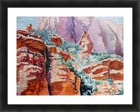 Sedona Arizona Rocky Canyon Picture Frame print