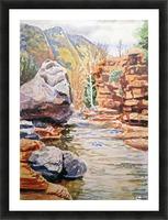 Sedona Arizona Slide Creek Picture Frame print