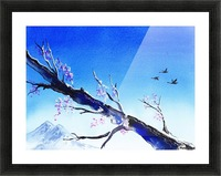 Spring In The Mountains Picture Frame print