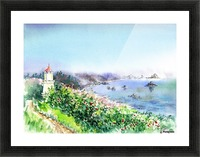 Lighthouse Trinidad California Picture Frame print