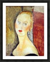 Modigliani - Portrait de Germaine Survage Picture Frame print
