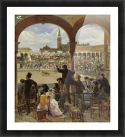 A Pass in the Bullring Picture Frame print