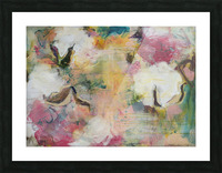 August Indian Cotton ii Picture Frame print