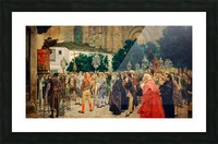 Holy Week in Seville Picture Frame print