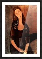 Modigliani - Portrait of Jeanne Hebuterne -3- Picture Frame print