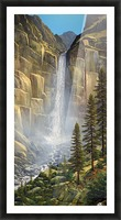 Great Falls Picture Frame print