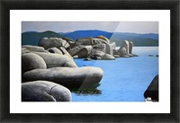 Lake Tahoe Rocky Cove Picture Frame print
