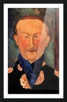 Modigliani - Portrait of Leon Bakst Picture Frame print