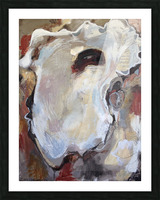 The Original Neutral Louisiana Oyster Picture Frame print