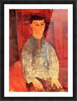 Modigliani - Portrait of Moise Kisling -3- Picture Frame print