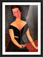 Modigliani - Portrait of Mrs van Muyden Picture Frame print