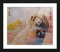 Le roi soleil  Impression et Cadre photo