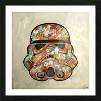 Storm Trooper Picture Frame print