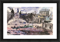 Freedom Castle by Lovis Corinth Picture Frame print