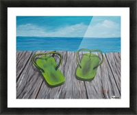 Sandals Picture Frame print