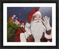 Merry Christmas To All Picture Frame print