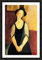Modigliani - Portrait of Thora Klinckowstroem Picture Frame print