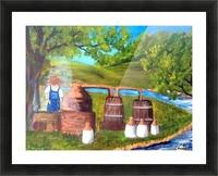 moonshiner Picture Frame print