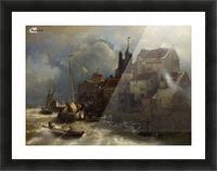 Coastal scene Picture Frame print