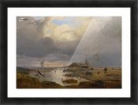 Skandinavische Landschaft Picture Frame print