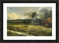 Landschaft in Hessen Picture Frame print