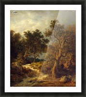 Landscape with a Stream Picture Frame print