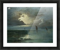 Sonnenuntergang am Meer Picture Frame print