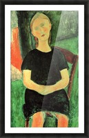 Modigliani - Sitting girl Picture Frame print