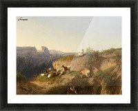 The sheppardes Picture Frame print