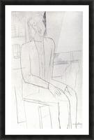 Modigliani - Sitting man Picture Frame print