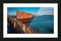 Lumiere sur le Rocher Perce Picture Frame print