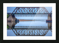 Vision double Picture Frame print