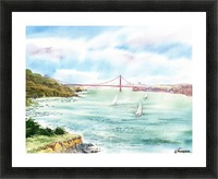 Golden Gate Bridge  Picture Frame print