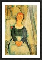 Modigliani - The beautiful merchant Picture Frame print