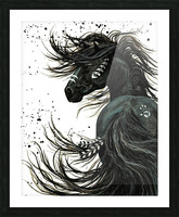Spirit Horse  Picture Frame print