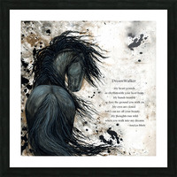 DreamWalker Dream Horse  Picture Frame print
