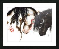 Majestic Spirit Horses Picture Frame print