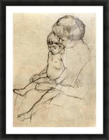 Mother and Child 2 by Cassatt Picture Frame print